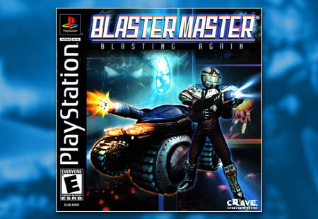 PSX PlayStation Blaster Master Blasting Again