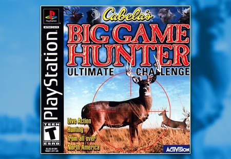 PSX PlayStation Cabela's Big Game Hunter: Ultimate Challenge