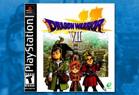 PSX PlayStation Dragon Warrior VII
