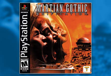 PSX PlayStation Martian Gothic: Unification