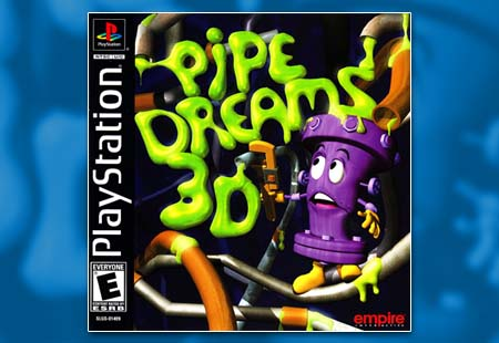 PSX PlayStation Pipe Dreams 3D