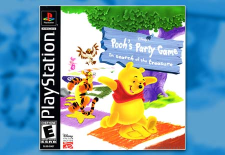 PSX PlayStation Disney's Pooh's Party Game: In Search of the Treasure