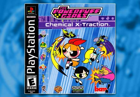 PSX PlayStation Powerpuff Girls Chemical X-Traction