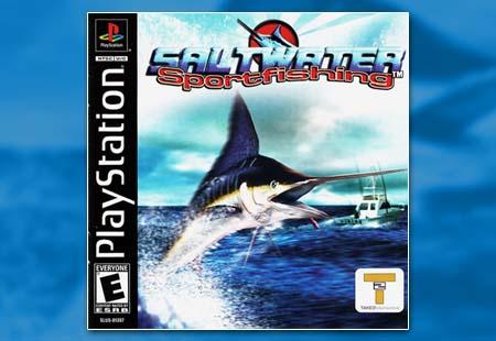 PSX PlayStation Saltwater Sport Fishing