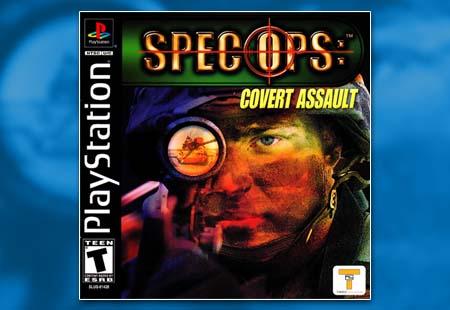 PSX PlayStation Spec Ops: Covert Assault