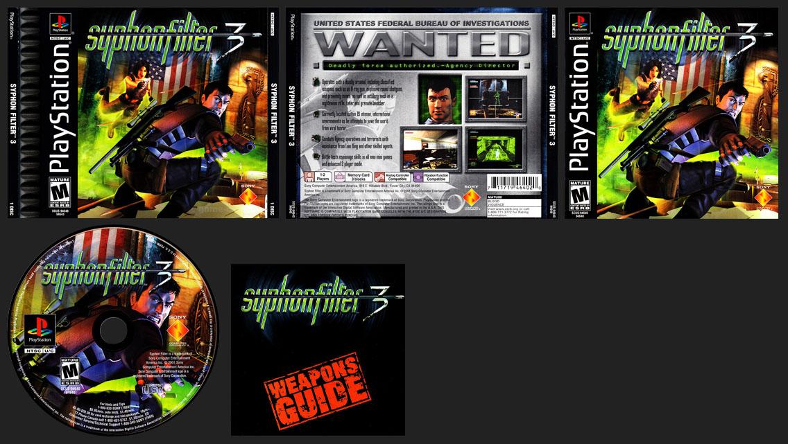 PSX PlayStation Syphon Filter 3 September 11. 2001 9-11 Version