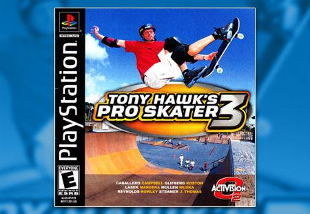 PSX PlayStation Tony Hawk's Pro Skater 3