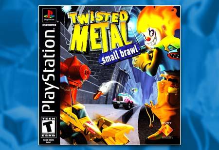 PSX PlayStation Twisted Metal: Small Brawl
